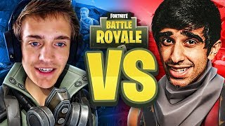 FACING NINJA'S SQUAD on Fortnite Battle Royale