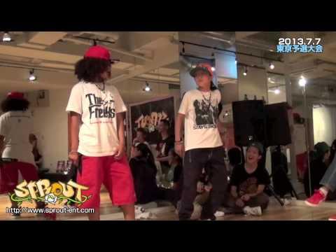 SPROUT2013東京予選決勝戦 Stevia vs DUB空