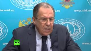 Сергей Лавров: Украинцы — братский народ России