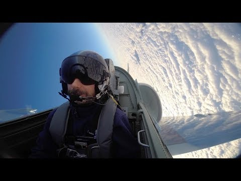 Pulling 5 G's (Grey-Out) L-39 Jet Aerobatics and Cloud Surfing
