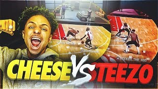 STEEZO VS CHEESEAHOLIC😱WHOS THE BEST DRIBBLE GOD IN NBA 2K18🤔 • SOMEONE GOT EXPOSED😱