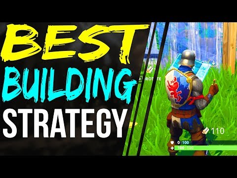 Fortnite BEST BUILDING STRATEGY - ALWAYS OUT PLAY YOUR OPPONENT - Fortnite Battle Royale