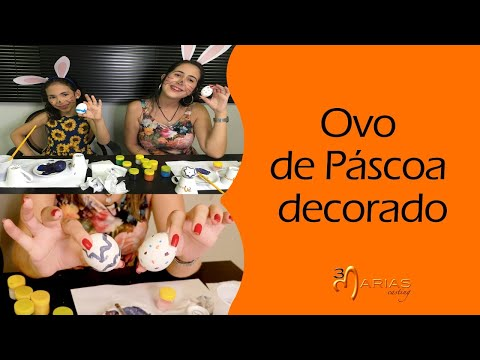 TV 3Marias: Ovo de Páscoa decorado