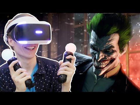 THE JOKER RETURNS!   Batman Arkham VR (Playstation VR Gameplay) Part 1