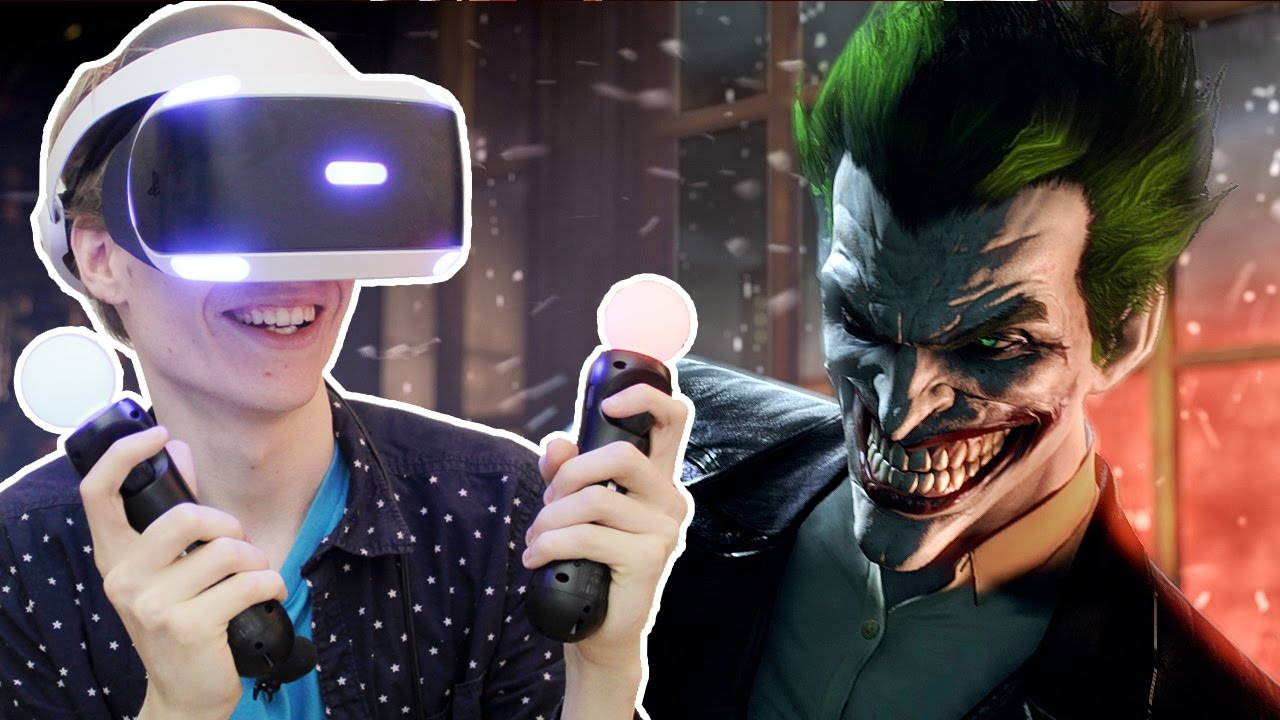 THE JOKER RETURNS! | Batman Arkham VR (Playstation VR Gameplay) Part 1