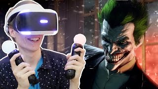 THE JOKER RETURNS! | Batman Arkham VR (Playstation VR Gameplay) Part 1