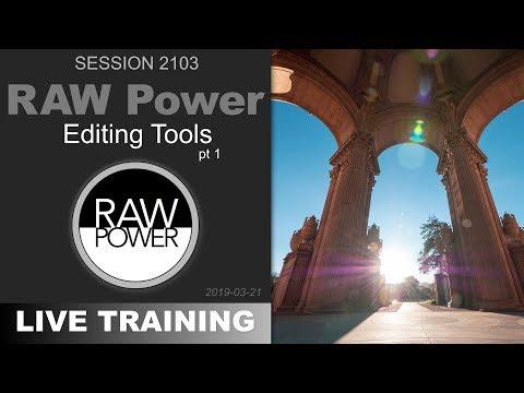 TRAILER: RAW Power; EDITING TOOLS PT 1 — PhotoJoseph's Live Training 2103