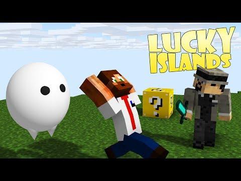 Minecraft Lucky Islands - Det Spökar Hos Ufo