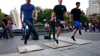 08 June 2013 Hammerstep - Irish Step - Tap Dance - Washington Square Park NYC