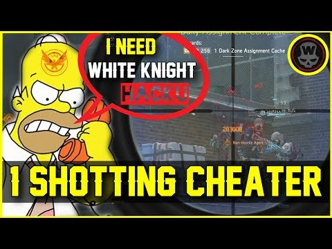 Multigroups gets FARMED & call whiteknight Hacker! (The Division 1.6.1)