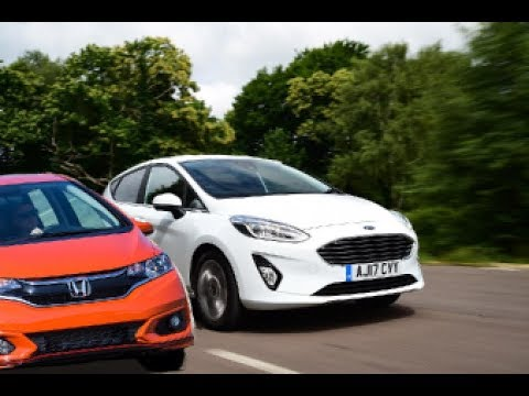 2018 Honda Fit Sport Vs. 2017 Ford Fiesta