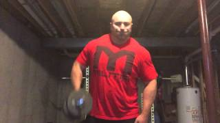 Try This Shoulder Superset - Bulldozer Laterals + Dumbbell Upright Rows