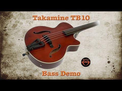 Takamine TB10 - [Bass Demo] - Walking the F Blues