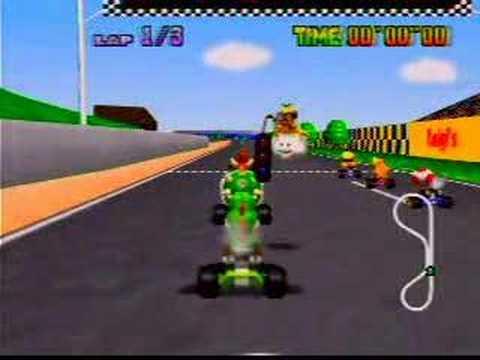 Myles Mario Kart 64 Luigi Raceway Turbo Start Shortcut Youtube