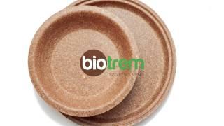 BIOTREM - bran tableware