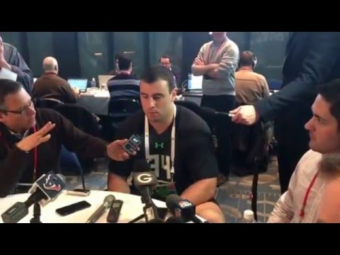 Dean Lowry My Question To The Northwestern Defensive End at NFL Combine #NFLCombine
