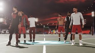 nba 2k15 mypark gameplay tenacious defense team chem improving win streak w randoms ep 3