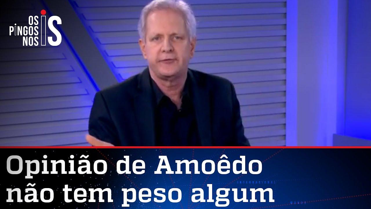 Augusto Nunes: Não admito que decidam por mim sobre a vacina