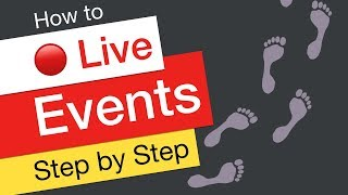 YouTube Live Events Tutorial Video