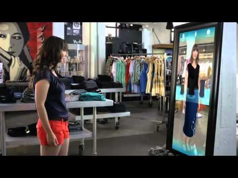 Kinect for Windows Retail Clothing Scenario Video