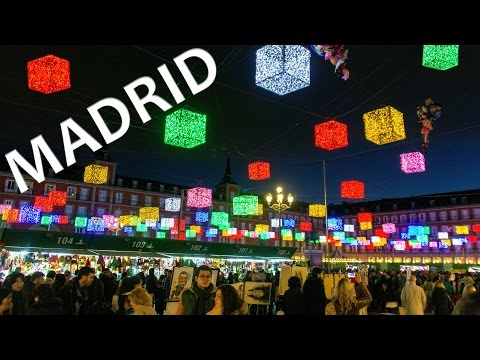 Europe Christmas Markets - MADRID, Spain (Mercadillos Navideños)   Endless Travelling