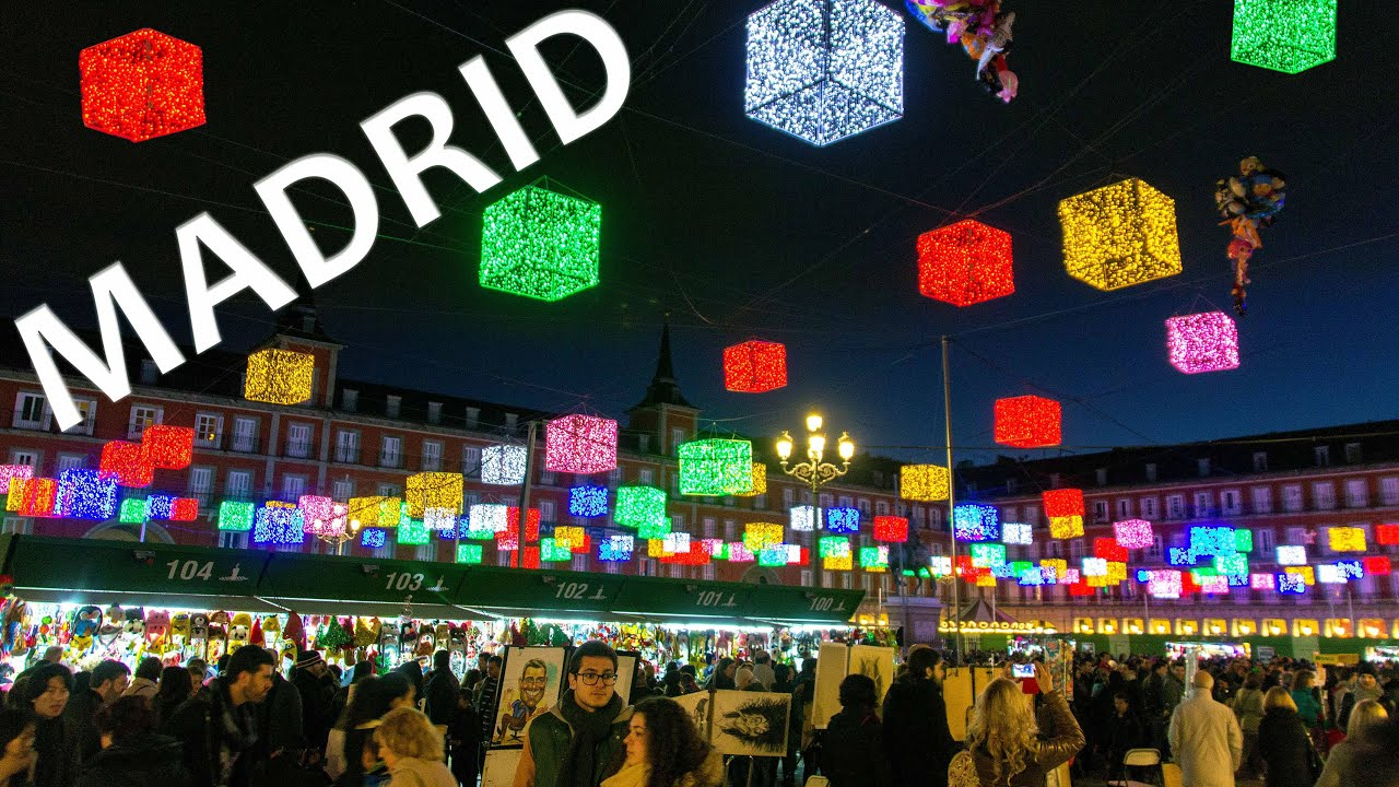 Europe christmas markets madrid spain mercadillos for Mercadillos navidenos madrid