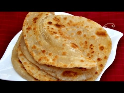 طريقة عمل الخبز الهندي البراتا Youtube