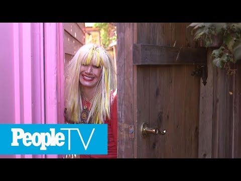 Betsey Johnson House Tour: The Designer Gives An Inside Look At Her Over-The-Top Backyard | PeopleTV