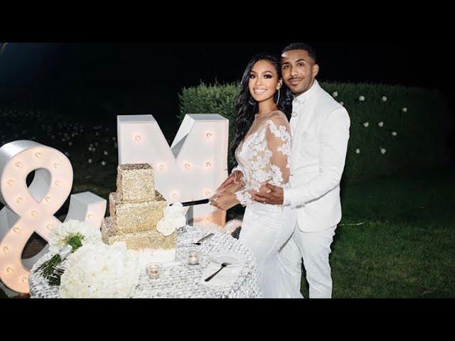 39-Year-Old Marques Houston Marries 19-Year-Old Miya Dickey