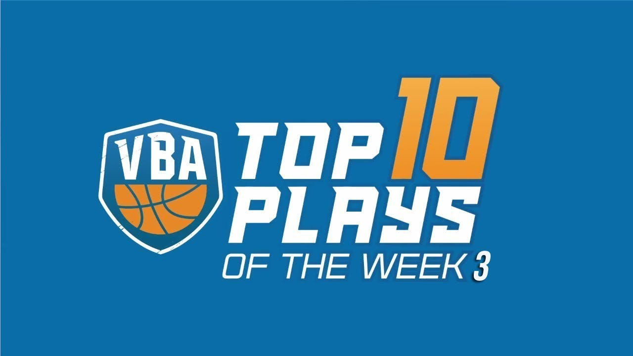 Top 10 Plays of the Week VBA 2018 || Top 10 Pha Bóng Đẹp VBA 2018 | Tuần 3