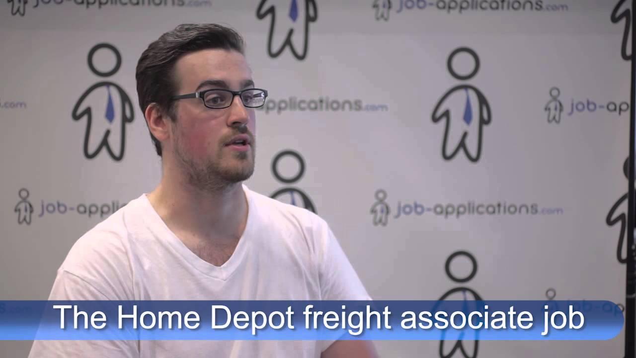 the home depot interview freight associate the home depot interview freight associate