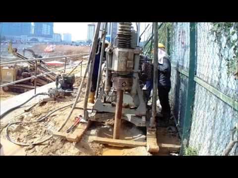 tutorial soil drilling machine new