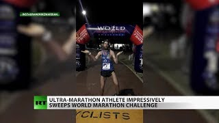 Extreme athlete completes 10 marathons in 10 days