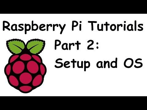 Installation and Setup of Operating System (Raspbian) - Raspberry Pi and Python tutorials p.2