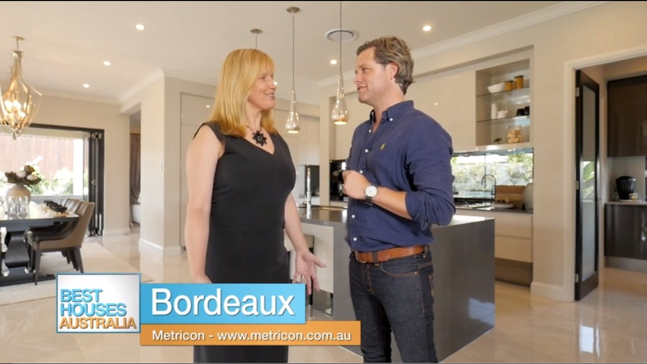 Metricons bordeaux 56a display home on best houses australia