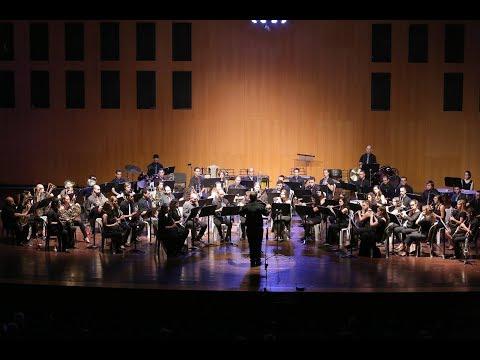 "Fantasia ""Kinneret's songs"" - Boris Pigovat - TAU Wind Band"