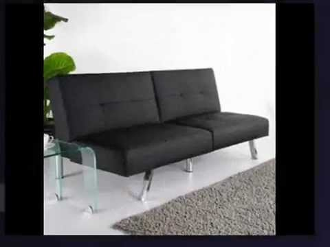 Gold Sparrow Jacksonville Black Foldable Futon Sofa Bed