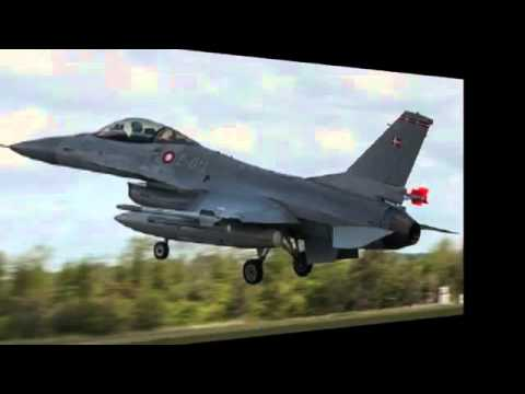 Danish F 16 Jet Fighter Crashes in North Sea, Pilot Safe