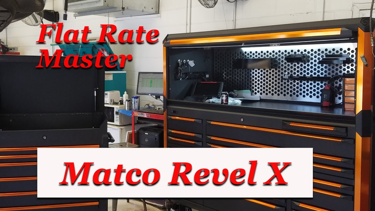 Matco Revel X Tool Box Tour