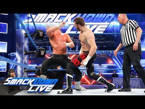Dolph Ziggler vs Sami Zayn: SmackDown , Feb 13, 2018