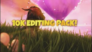 10K FORTNITE EDITING PACK! (Links in Desc.)