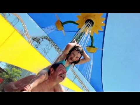 WhiteWater World Ride & Attraction Footage Gold Coast Australia