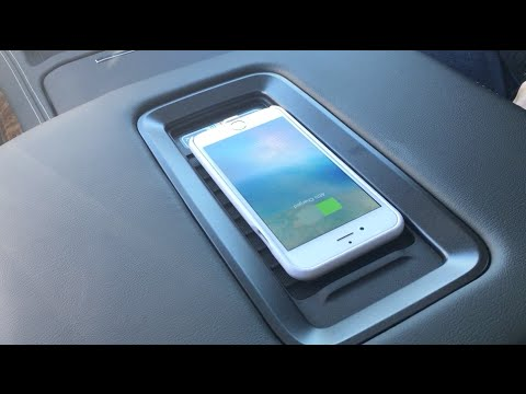 Latitude | Wireless Charging | 2016 Chevrolet Tahoe, Volt ...