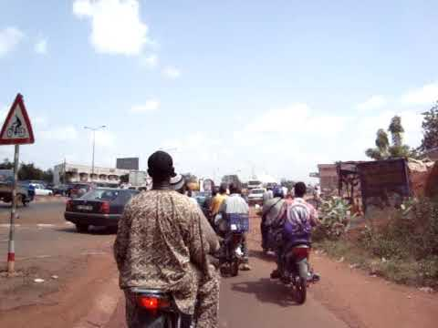 Bamako motorcycle ride