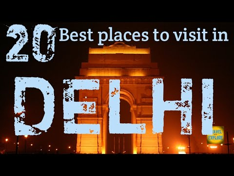 DELHI | Top 20 places not to miss  in DELHI || Delhi Tourism.