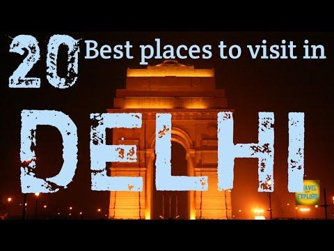 DELHI   Top 20 Places Not To Miss  In DELHI    Delhi Tourism.