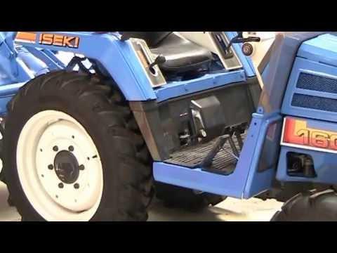 tracteur agricole iseki tu160 youtube. Black Bedroom Furniture Sets. Home Design Ideas