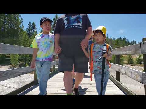 Road Trip 2018 - YellowStone, Geysers, Mesa Falls