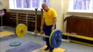 Сконников А.М. 90 кг без разминки в 59 лет