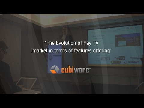 Cubiware's BDM speech at NexTV Summit Brazil 2014